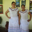 Folkloric latin american dress — Stock Photo
