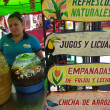 Gastronomic festival in Juayua — Foto Stock