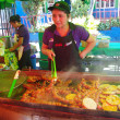Gastronomic festival in Juayua — Stock Photo
