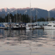 Vancouver coal harbour — Stock Photo
