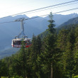 Grouse mountain — Stockfoto