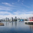False Creek in Vancouver — 图库照片