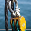 Yacht Rigging — Stock Photo