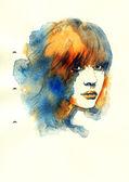 Beautiful woman. — Foto Stock