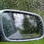 Driving in rain — Stock Photo #13959361