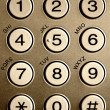 Phone keypad — Stock fotografie #13959368