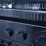 Hi-Fi stereo system — Stock Photo #13959382