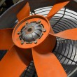 Stock Photo: Ventilator fan