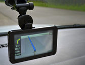 Car navigation system — Stock Photo