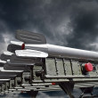 Combat missiles — Stock Photo #13961339