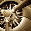 Stock Photo: Old aircraft