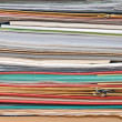 Stock Photo: Stack of old paper