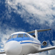 Passenger airplane — Stock Photo #13963606