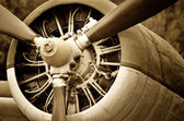 Old aircraft — Stock Photo