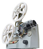 Old film projector — Stock Photo
