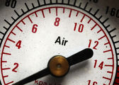 Luftdruckprüfer — Stockfoto