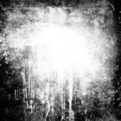 黑色和白色 grunge 背景 — 图库照片