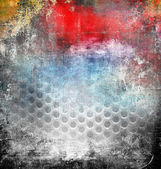 Abstract grunge background, colorful illustration — Stok fotoğraf