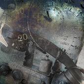 Grunge technology background — Stock Photo