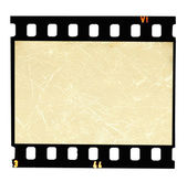Filmstrip on white background — Stock fotografie