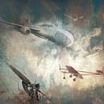 Постер, плакат: Retro aviation