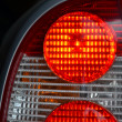 brake lights — Stock Photo