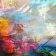 Abstract grunge colorful background — Foto Stock