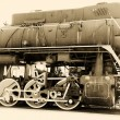 Stock Photo: Old steam train vintage