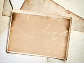 Vintage photo frame background — Stock Photo