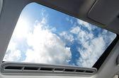 Car sunroof — Stock Photo