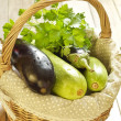 Basket of fresh vegetables — Stock Photo #22763868