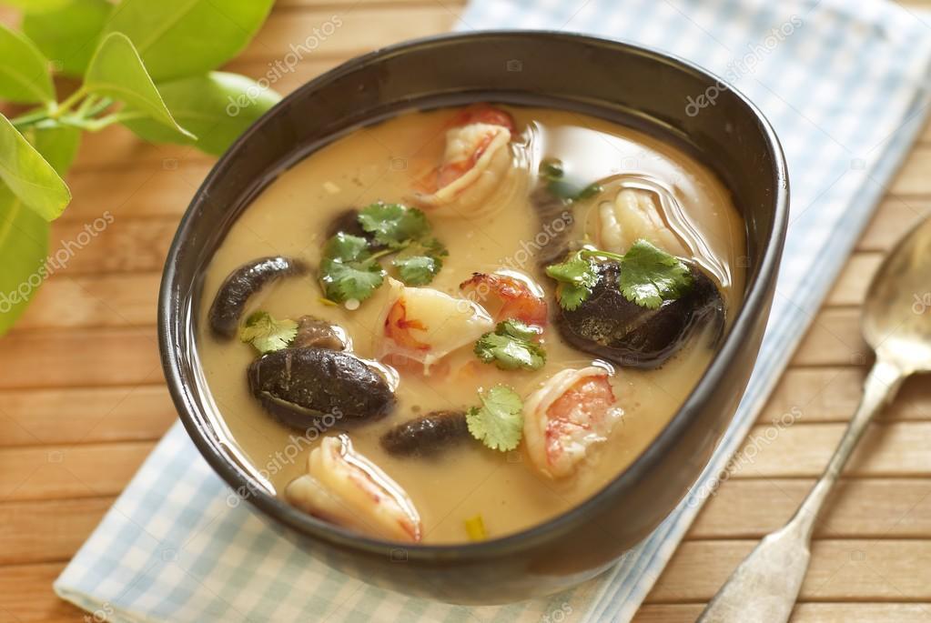 Суп том ям с кокосовым молоком roi thai, 250мл/tom yam soup with coconut milk roi thai, 250ml