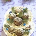 Christmas chocolate cakes — Stock Photo #51470843