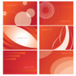 Background Set — Stock Vector #28051343