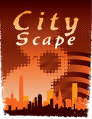 City Scape — Stock Vector
