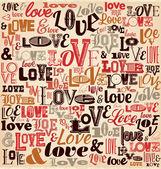 Love Background Design — Stock Vector