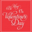 Valentines Day Design — Vector de stock #28067317