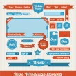 Web Design Elements — Image vectorielle