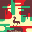 Abstract Christmas Card Design — Stock Vector #28067501