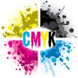 CMYK Splash Design — Stock Vector #28068275