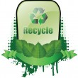 Recycle banner — Stock Vector