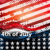 USA Background - july 4 design — Stock Vector