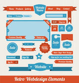 Web Design Elements — Vecteur