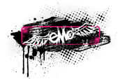 Emo banner — Stock Vector