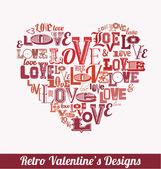 Valentines Day Design — Stockvector