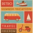 Summer Travel Design — Stock Vector #29549131