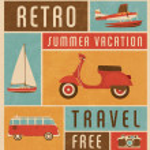 Summer Travel Design — Stock Vector #29549137