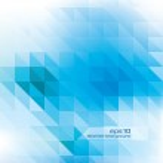 abstrait - éléments de conception géométrique — Vecteur