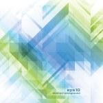 abstraktní pozadí - geometrické prvky — Stock vektor
