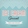 Vintage Ice Cream Label Design — Stock Vector #29549293